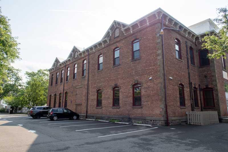 kingston library exterior